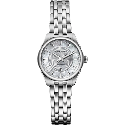 Hamilton JAZZMASTER真鑽機械腕錶(H42215111)-30mm