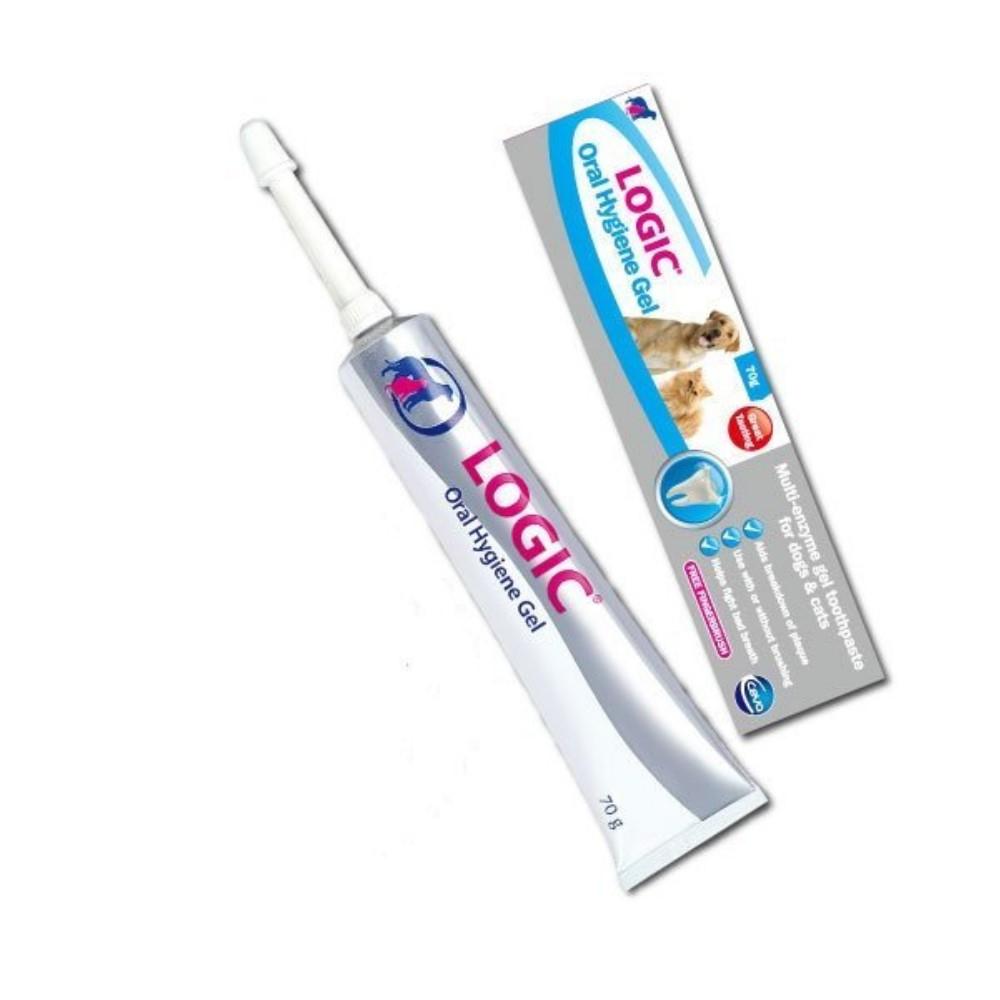 英國CEVA LOGIC歐樂害淨牙膏(附指套) 70g