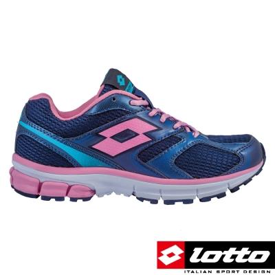 LOTTO-義大利-女-輕量慢跑鞋-ZEINTH-VII-海軍藍