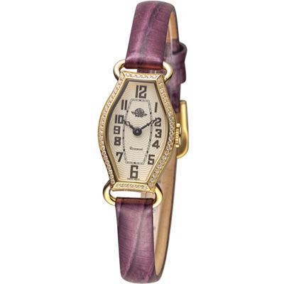 玫瑰錶 Rosemont 骨董風玫瑰系列腕錶-紫/17x27mm