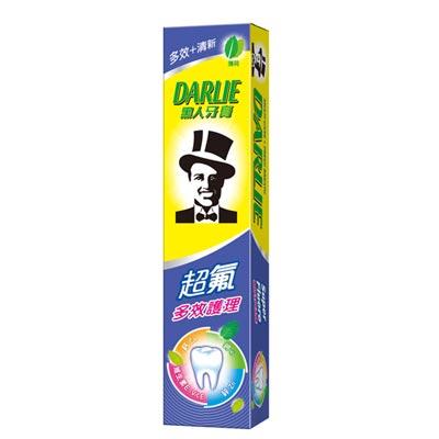 黑人超氟多效護理牙膏 180g