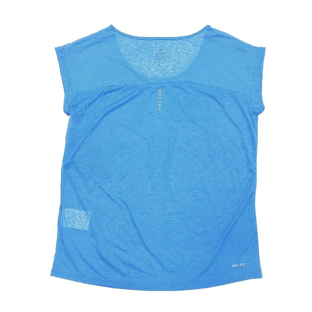 Nike As Dri Fit Cool 背心 女 藍銀