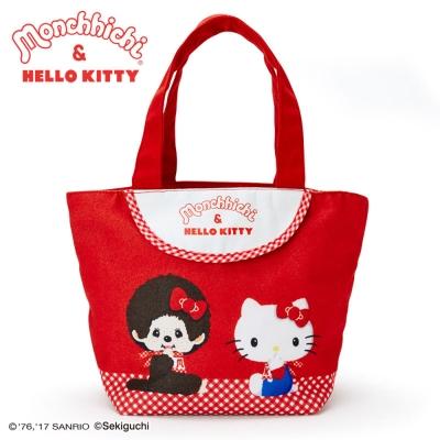 Sanrio HELLO KITTY,夢奇奇MONCHHICHI系列迷你提袋 @ Y!購物