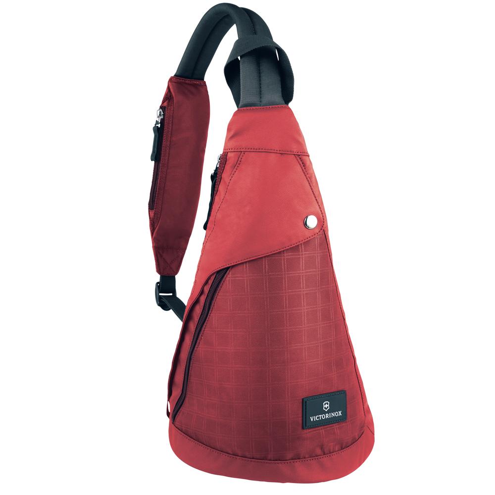 Victorinox瑞士維氏 Altmont 3.0 單肩時尚背包-紅