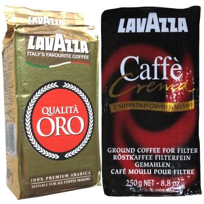 LAVAZZA-ORO金牌咖啡粉-2包-Crema