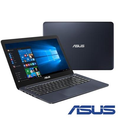 ASUS E402 14吋四核筆電(N3450/500G/4G/1.65kg/紳士藍