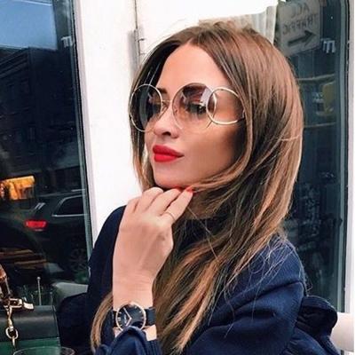 Chloe太陽眼鏡 別緻金屬框 廣告款 (銀-漸層棕) #CL124S 043