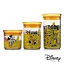 迪士尼Disney 米奇繽紛塗鴉AS密封罐三件組400ml+720ml+1L(8H)