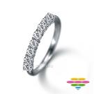彩糖鑽工坊 Elegance系列 鑽石排指線戒
