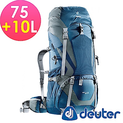 【ATUNAS 歐都納】德國DEUTER ACTLite拔熱透氣登山背包4340315藍灰