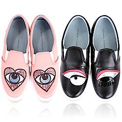 Chiara Ferragni 眨眼厚底休閒鞋均一價$549
