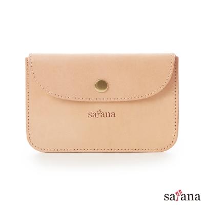 satana - 低調頑皮 - 真皮簡約卡片夾/零錢包