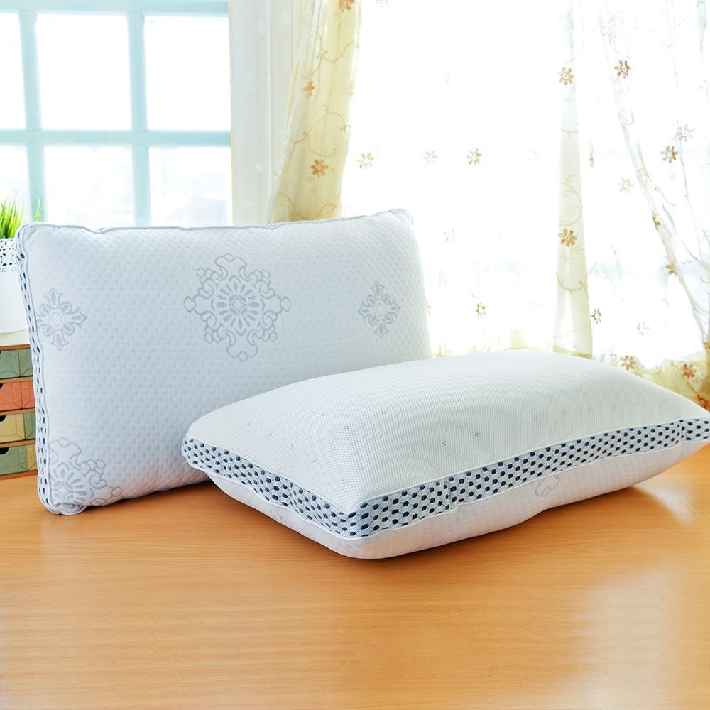 LooCa 新典乳膠釋壓獨立筒枕 2入 @ Y!購物