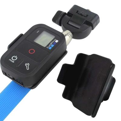 GoPro 遙控器專用卡扣式固定座(可與自拍棒搭配使用)