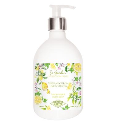 Institut Karite Paris巴黎乳油木檸檬馬鞭草花園香氛液體皂500ml