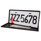 [快]安伯特 最新7碼汽車牌框(黑) (一組2入)