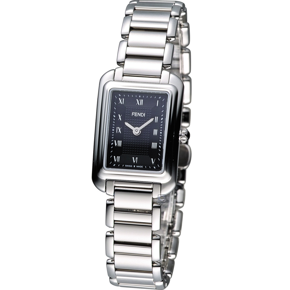 FENDI Classico 古典優雅時尚腕錶-黑/20x30mm