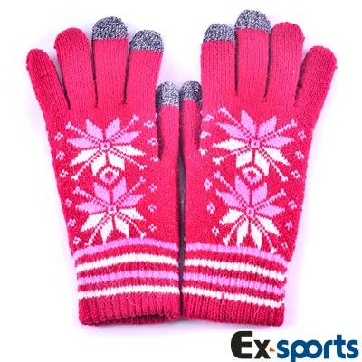 Ex-sports 觸控手套 智慧多功能(女款-507)