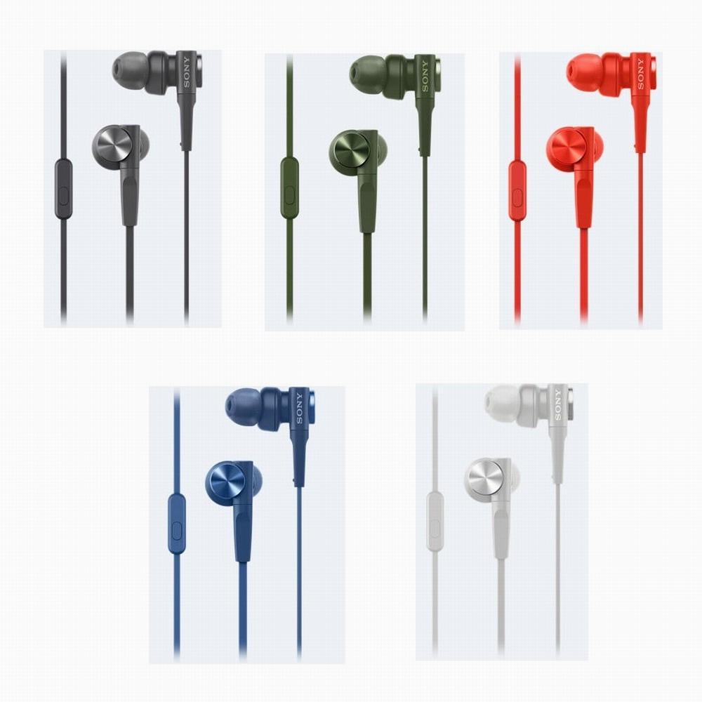 SONY重低音內耳式耳麥MDR-XB55AP