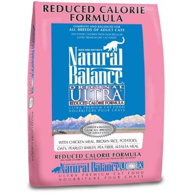 Natural Balance 特級成貓低卡調理配方 15lbs(6.7kg)