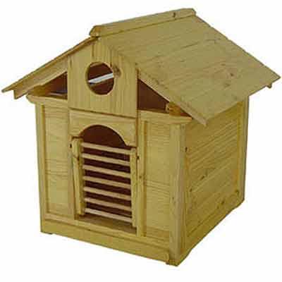 《原木》寵物狗屋( 小型犬、貓適用 )