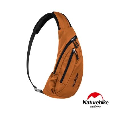 Naturehike 6L多功能防水單肩斜背包 胸前包 橘色-急
