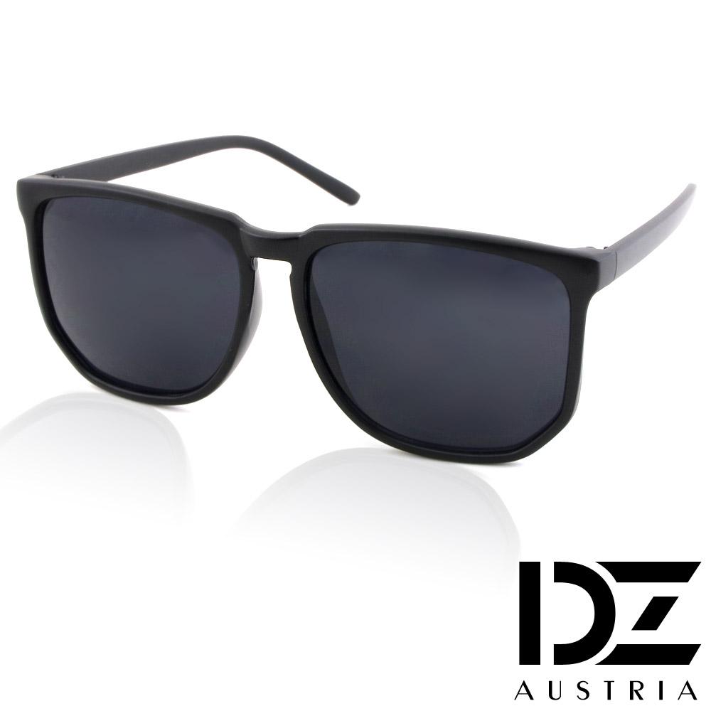 DZ 經典韓款 抗UV太陽眼鏡造型墨鏡(霧黑系)