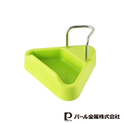 日本PEARL 耐熱矽膠鍋蓋架綠色(LC-582)