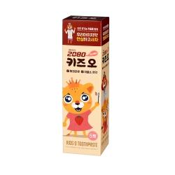 韓國2080 樂天聯名有機樹莓兒童牙膏100gX3入