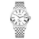 TITONI瑞士梅花錶 天星系列(83538 S-608)-銀/不鏽鋼錶帶/40mm