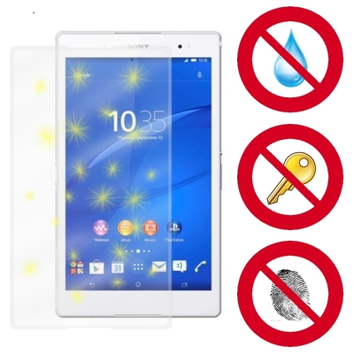 D&A SONY Xperia Z3 Tablet C 8吋專用玻璃奈米...