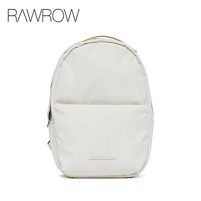 RAWROW-漫遊系列-15吋簡約蛋形後背包-亮白-RBP222WH