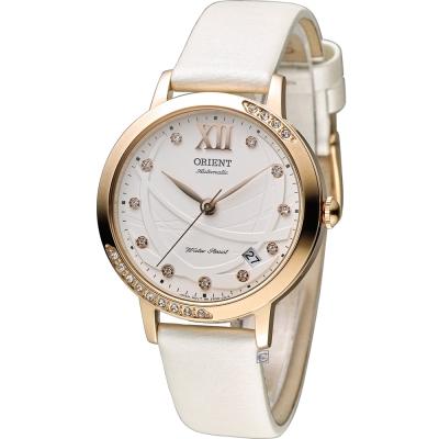 ORIENT 永恆耀眼時尚腕錶-白/36mm