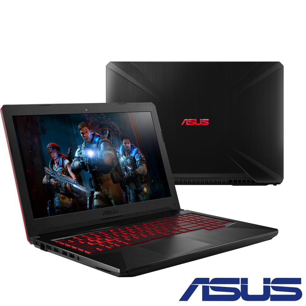 ASUS FX504GD 15吋電競筆電(i5-8300H/GTX1050/4G/隕石黑