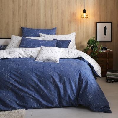GOLDEN TIME 導航中的夢 100%純棉 兩用被床包組 加大