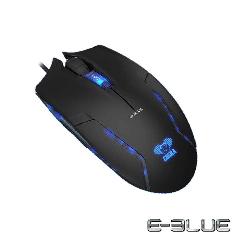 E-Blue 宜博 Cobra II 眼鏡蛇二代 專業有線電競滑鼠 EMS151BK