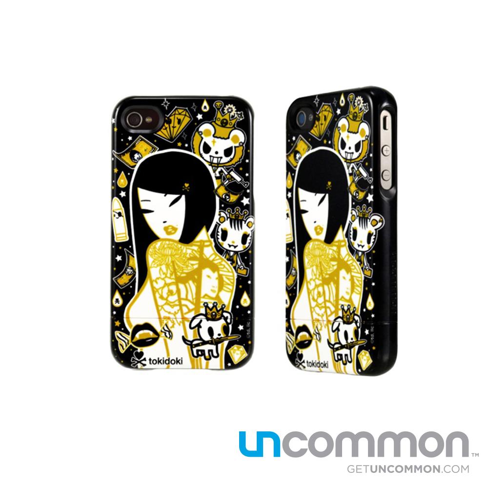 uncommon iPhone4/4S 滑蓋保護殼-24K