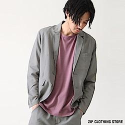 輕量級西裝外套(6色) ZIP日本男裝