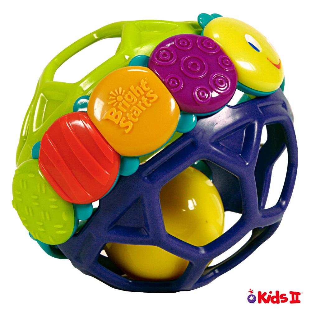 Kids II-BS 閃亮之星安全彈力球