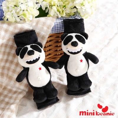 【Mini Beanie】Beanie Panda 胖達車用安全帶護套(二入1組)