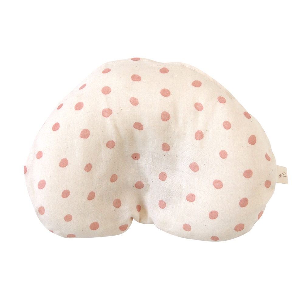 NAOMI ITO 彩虹波點多功能嬰兒枕(粉紅)
