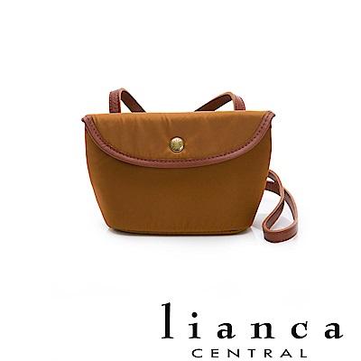lianca 純手工製LIMONTA相機包(小) 駝