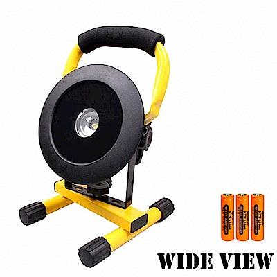 【WIDE VIEW】T6圓形鋼化防水工作/照明燈組(NZL-801-3BC)