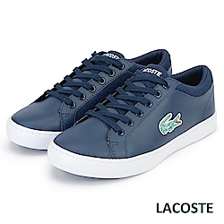 LACOSTE 女用休閒鞋-藍