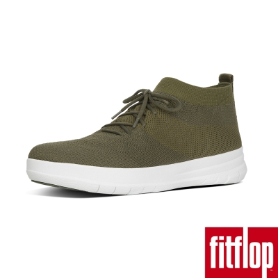 FitFlop TM-UBERKNIT TM SLIP-ON HIGH TOP綠