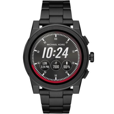 MICHAEL KORS Smartwatch智慧型觸控連線手錶-黑/47mm