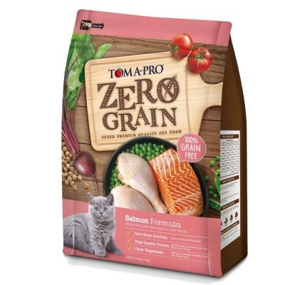 優格 天然零穀 ZEAOGRAIN 鮭魚敏感 貓用配方 14磅