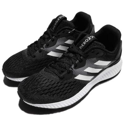 adidas 慢跑鞋 Aero Bounce J 女鞋