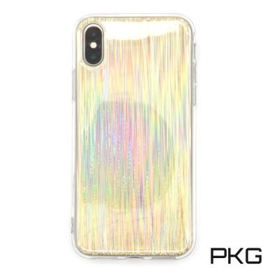 PKG Apple IPhone X 保護殼(時尚科技-雷射拉絲)