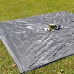 ONEROAD 防水地墊/炊事帳/野餐墊/防水地布/遮雨帳篷底布(300x300) -灰